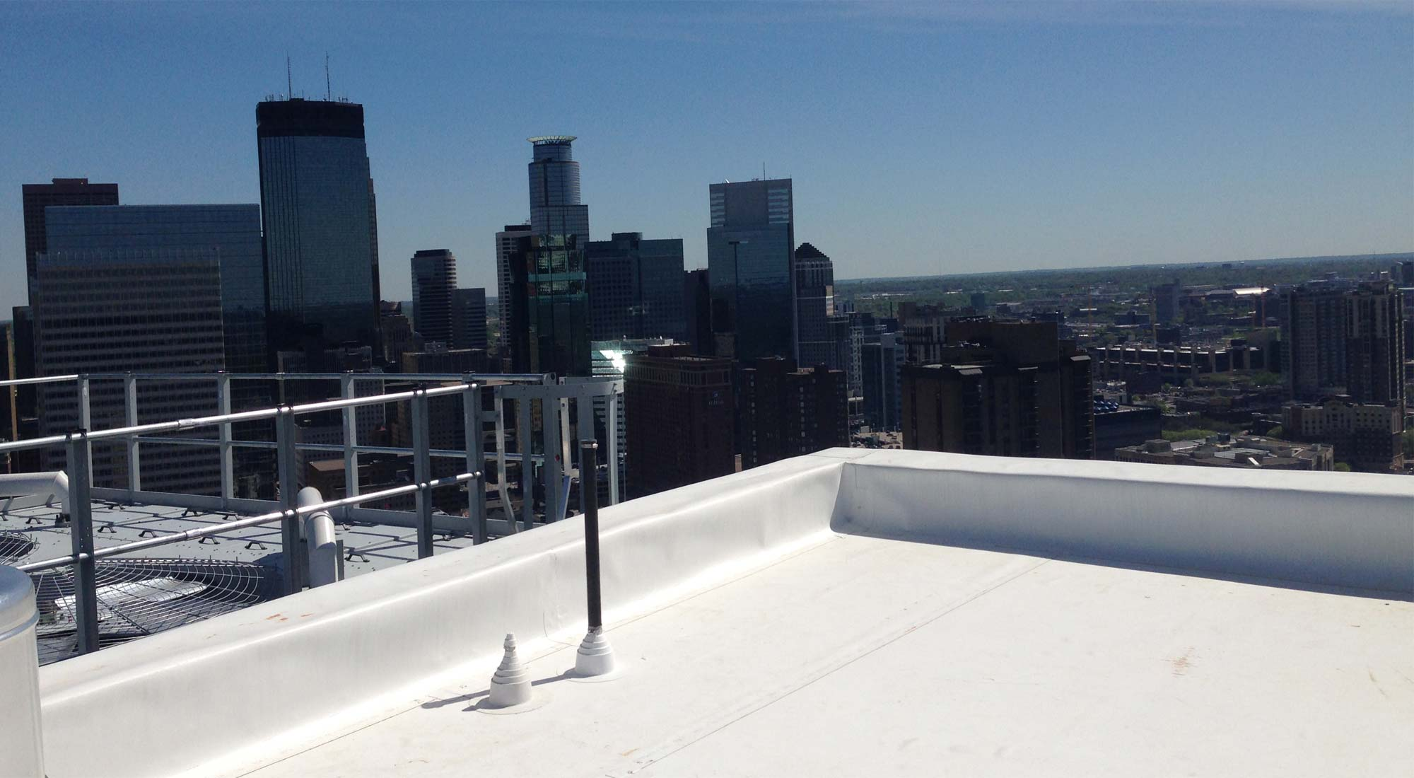 How Are Flat Roofs Maintained?