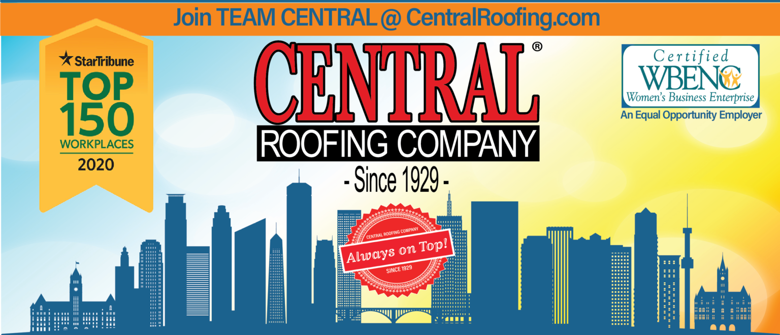 Star Tribune names Central Roofing Company a 2020 Top 150 Workplace